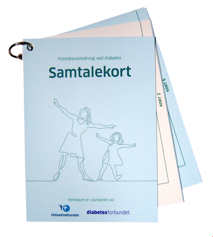 Bilde av Foreldreveiledning - samtalekort - for helsepersonell
